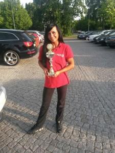 Dana - 5. Platz NAC-Germany in der Bikini Klasse der Ostdeutschen Meisterschaft